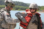 'Big Red One,' 4th Maneuver Enhancement Brigade conduct bridge-construction exercise