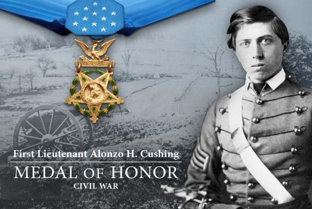 1st Lt. Alonzo H. Cushing