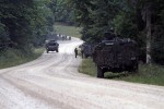 Estonian Army faces OPFOR during Saber Junction 14