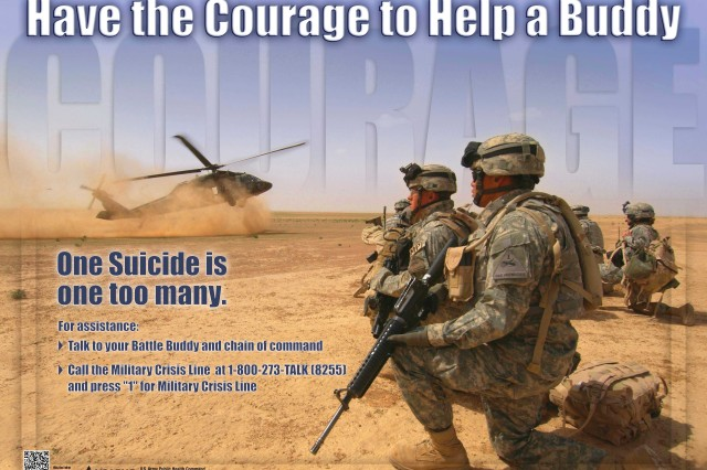 We must continue to support our fellow Soldiers because one suicide is one too many.