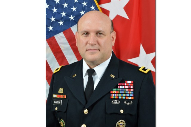 Maj. Gen. John F. Wharton will become RDECOM's commanding general during an assumption of command ceremony Sept. 22 at Fanshaw Field here. He will take over leadership for the command from Director Dale A. Ormond.