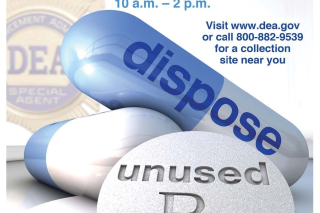 National Prescription Take-Back Day, an initiative of the United States Drug Enforcement Administration, started in 2010.  It encourages American citizens to turn in unused or expired prescribed medications at designated locations for proper disposal.  The next Take-Back Day takes place Sept. 27.