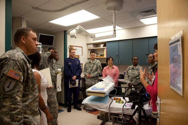 Fort Detrick Victim Advocates Conduct Seat Ride Training with Local Community