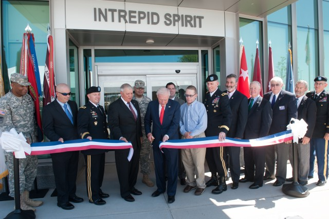 fort campbell intrepid center  third of nine completed