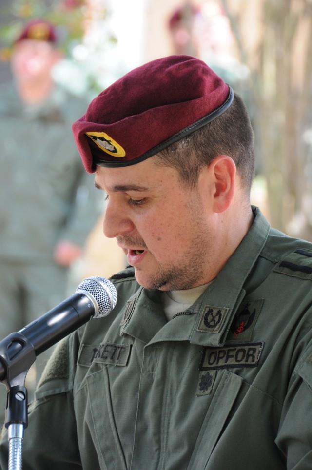 1-509 Commander addresses adding two new companies