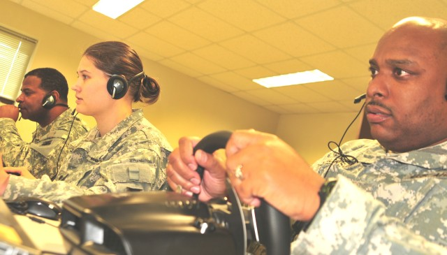 Army Reserve Soldiers complete Virtual Battle Space Training in Daegu