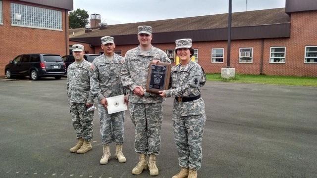 Reserve Soldier earns Best Engineer Warrant Officer award