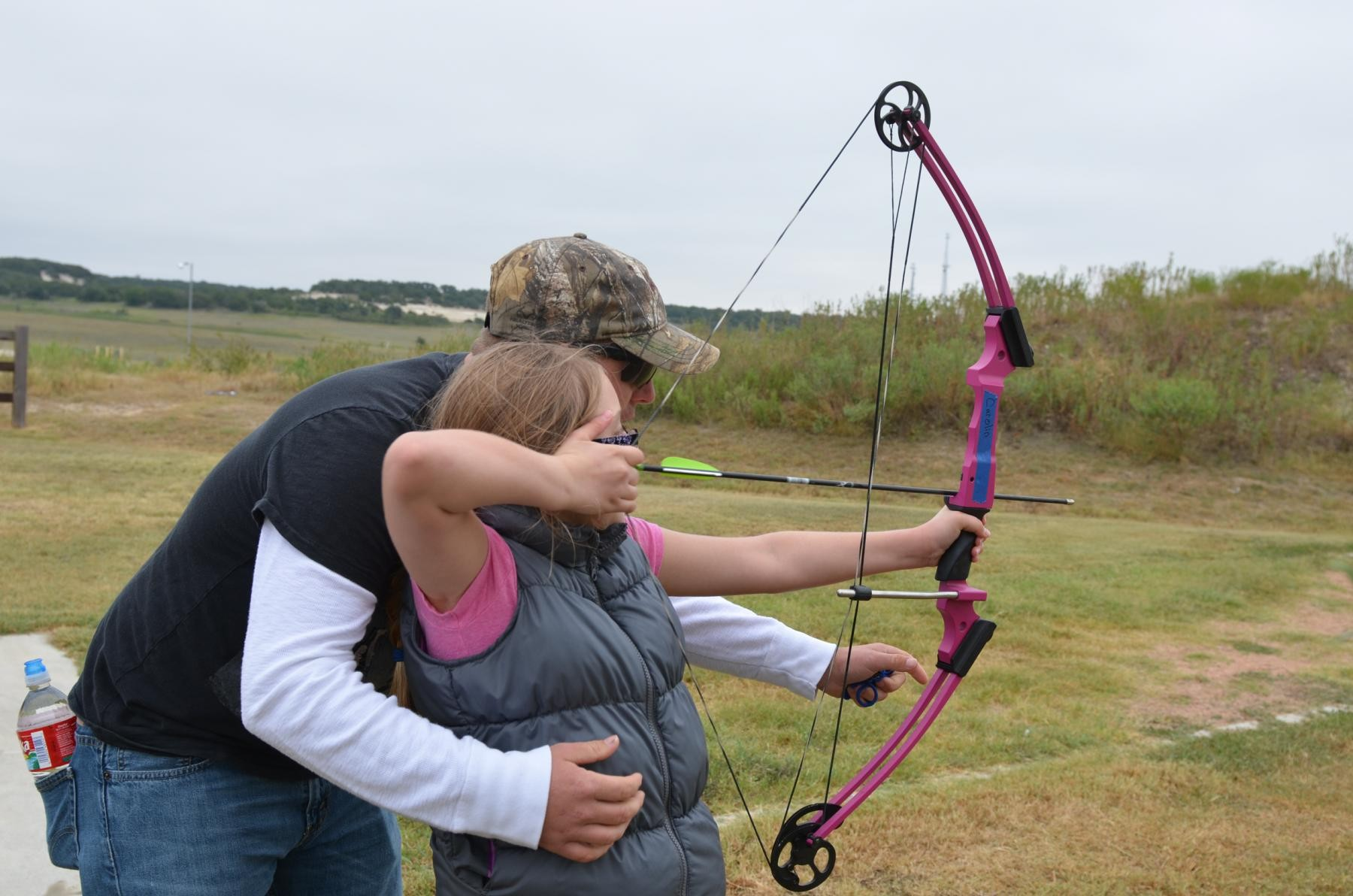 Fort hood hosts hunting fishing day article the for Mini crossbow fishing