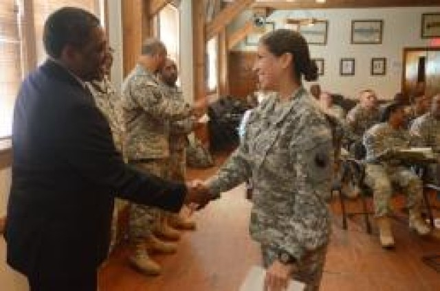 Virginia Guard senior enlisted Soldiers attend SHARP training