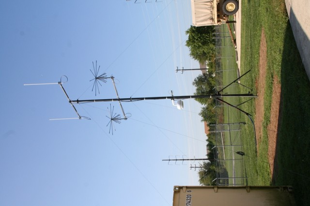 The 4G LTE Cellular/Wireless transmission antenna will support the new Disaster Incident Response Emergency Communications Terminal's (DIRECT)  cellular handheld requirements from the command posts to the tactical formation edge. These capabilities were validated during an Army and National Guard demonstration at the Smyrna Readiness Center, in Smyrna, Del., on Sept. 4, 2014.
