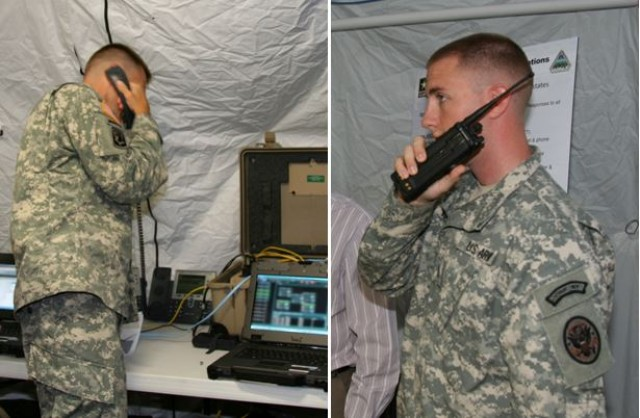 Disaster Incident Response Emergency Communications Terminal's (DIRECT) radio-bridging and voice cross-banding capability