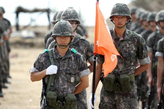Nakdong River Battle reenacts fierce battle; honors 64 years of South Korean history