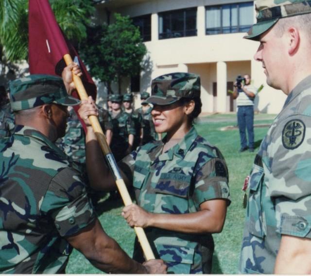 Command Sgt. Major Donna Brock Hawaii