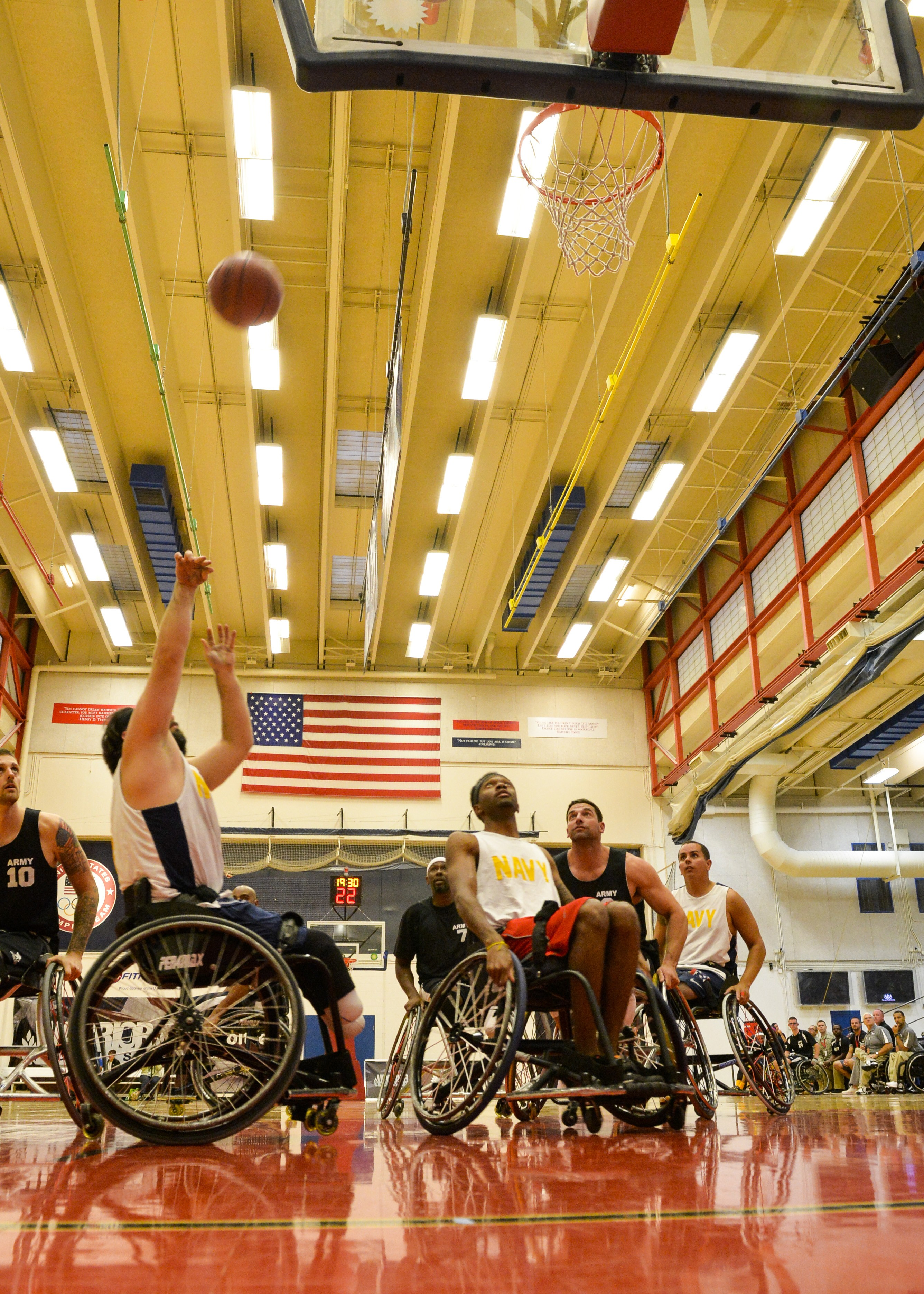 Army advances to gold-medal round against Marines in wheelchair b