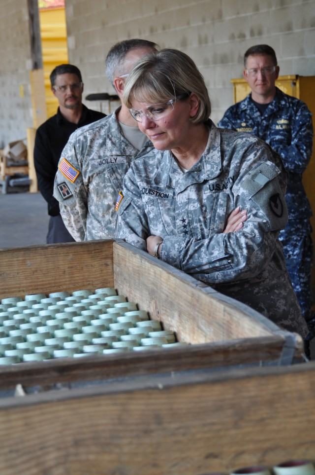 Crane Hosts Top Army Generals for Munitions Summit