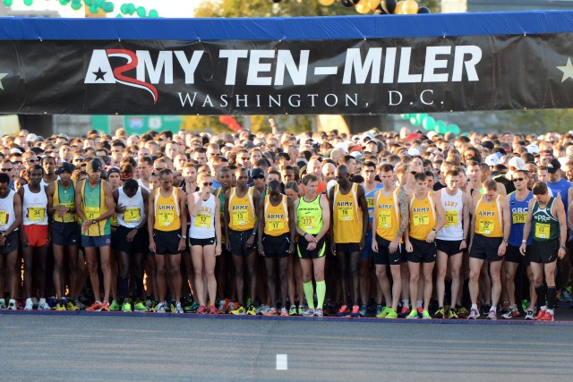 Start of 2013 Army Ten-Miler