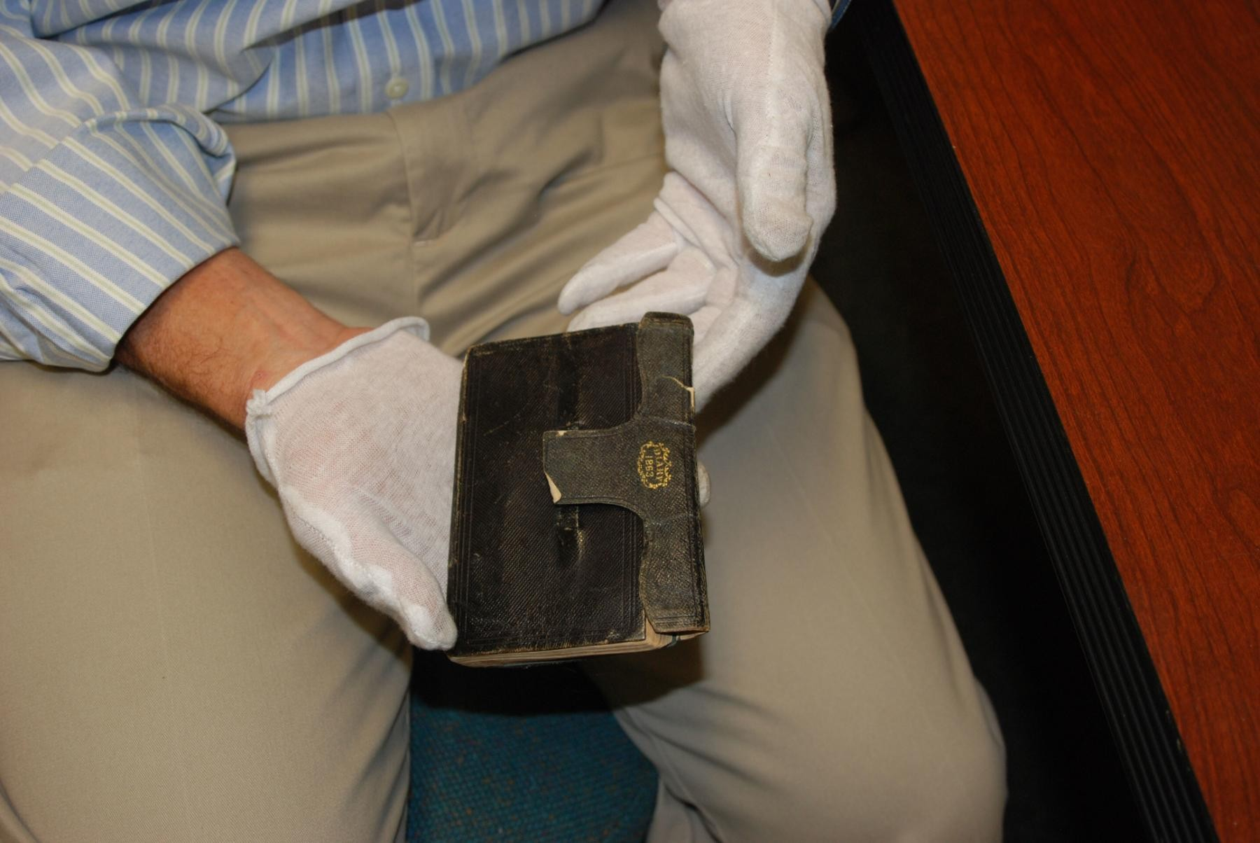 150-year old Confederate diary gives up its secrets to