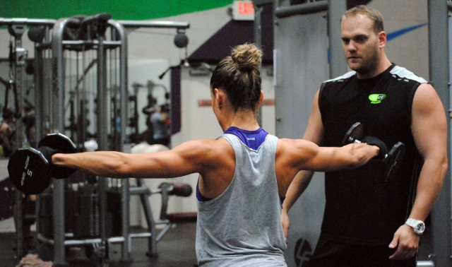 Jack of all trades: personal trainer helps clients succeed
