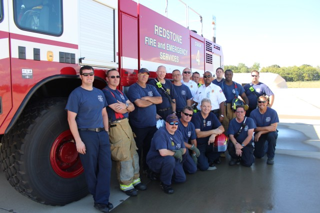 """Redstone firefighters support Fire Prevention Week, which aims to increase awareness of fire prevention and the use of smoke alarms. The theme is """"Working Smoke Alarms Save Lives: Test Yours Every Month!"""""""
