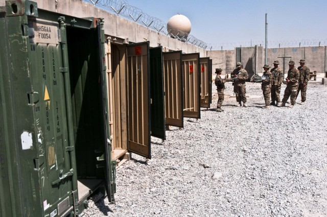 The 1st Cavalry brings Kandahar Airfield to a Resolute Support timeline