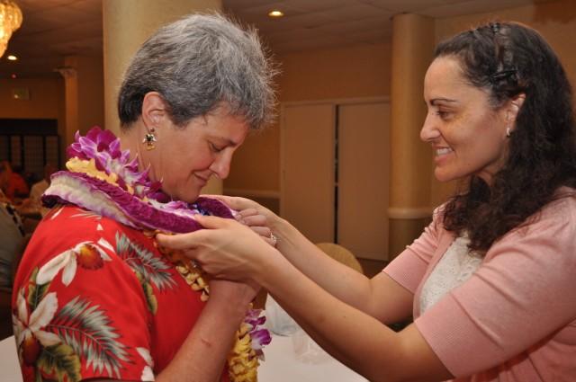 Aloha Oe, 311th bids farewell to BG Haigler