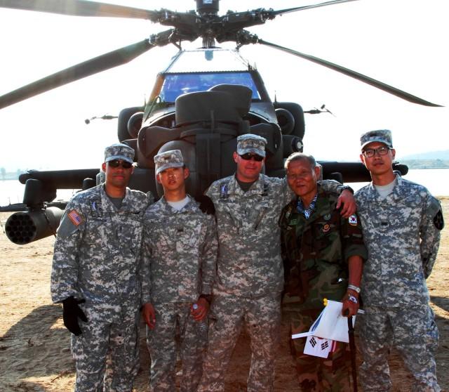 Battle re-enactment pays homage to veterans