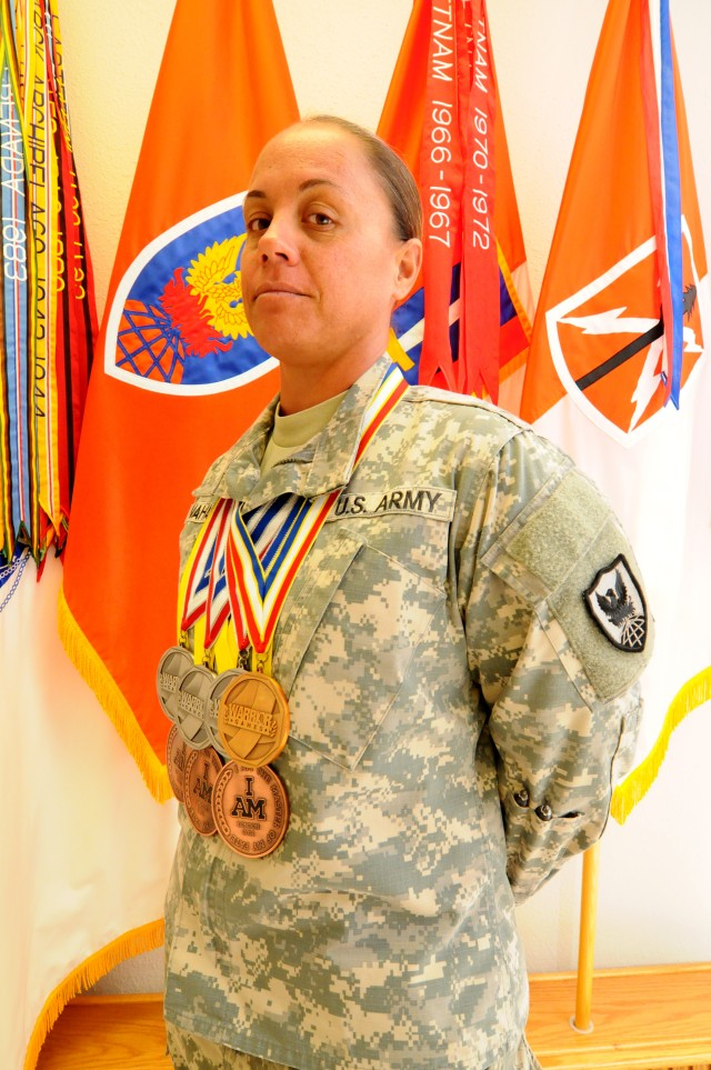 Sgt Nahale wins seven medals at Invictus and Warrior Games