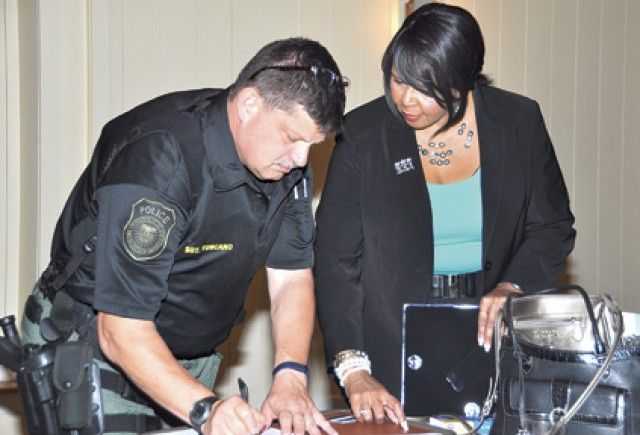 Garrison employees learn about career advancement tools, resources