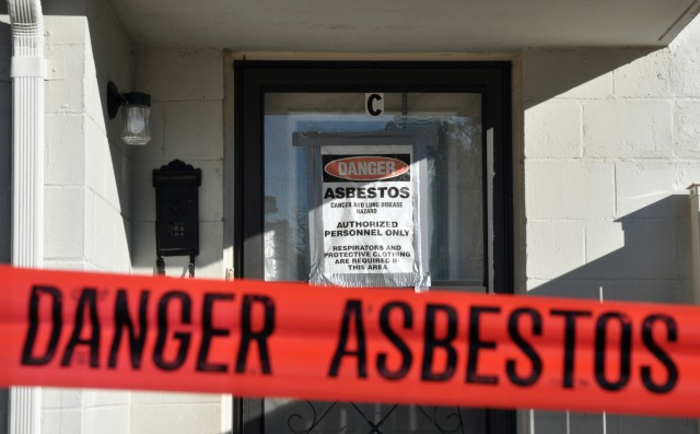 Asbestos can only pose danger when airborne