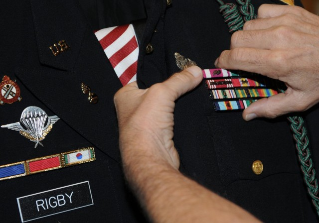 Last continuously serving draftee retires after 42 years of service