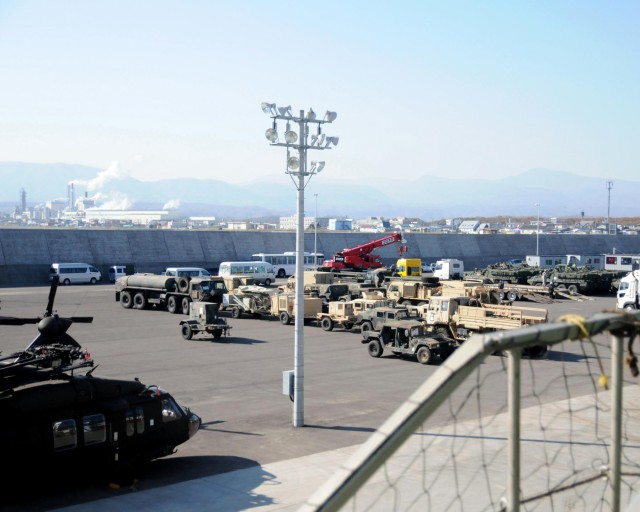 Shipping US Army equipment for Orient Shield 14, a huge undertaking