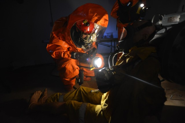 New York National Guard's 24th Civil Support Team exercises
