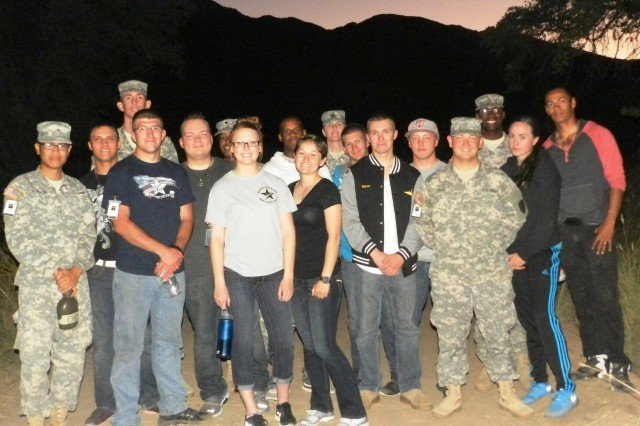 Alpha Company 2-13th Avn  Regt  scene takes first place at annual