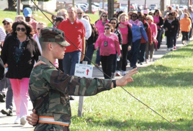 APG shows support during breast cancer awareness walk