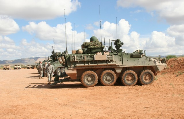 Warfighter Information Network-Tactical (WIN-T) Increment 2 integrated on Strykers