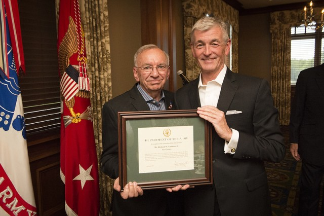 The newest Civilian Aide to the Secretary of the Army (CASA) was invested during a ceremony conducted in October at the Army Navy Country Club in Arlington, Virginia. Richard W. Eastman, Jr. was selected by Secretary of the Army John McHugh as one of two CASAs representing New Jersey.