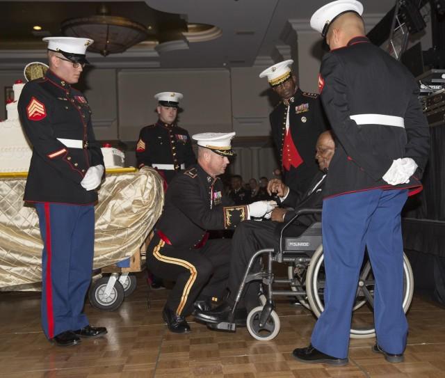 Marines celebrate 239 years