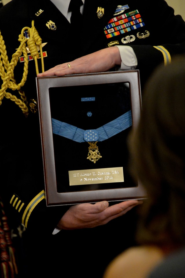 Cushing's Medal of Honor