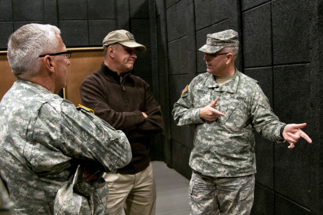 Army Under Secretary goes to see home-state heroes