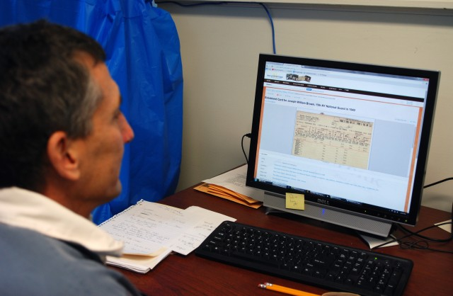 Historic 369th Infantry personnel records available on line