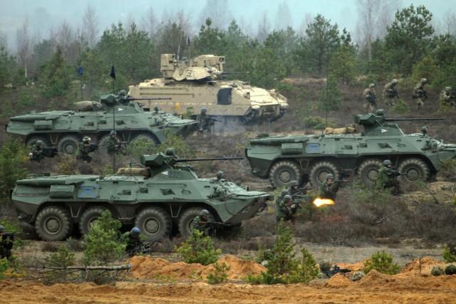 NATO land demonstration