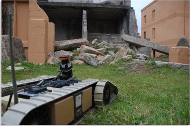 Army researchers address the challenge of Soldier/robot teaming at the squad level.