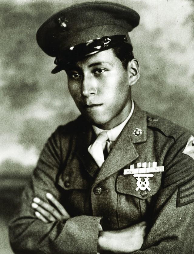 Cpl. Mitchell red Cloud Jr.