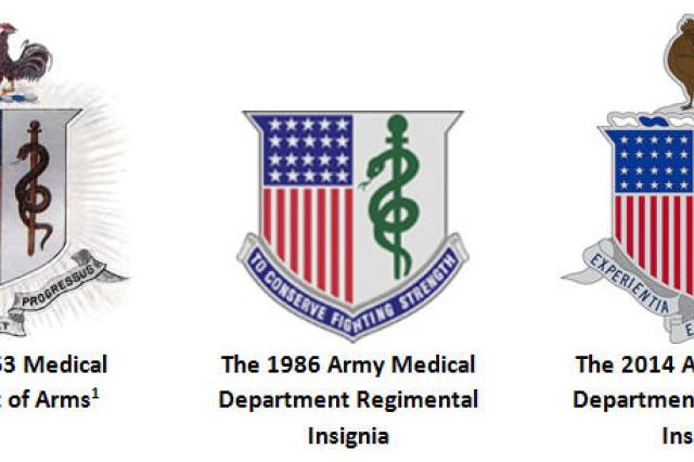 The New Army Medical Department Amedd Regimental Distinctive
