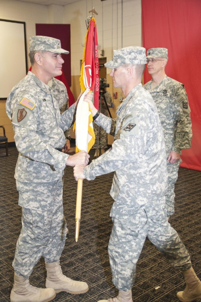 Cook assumes command of 926th Eng. Bde.