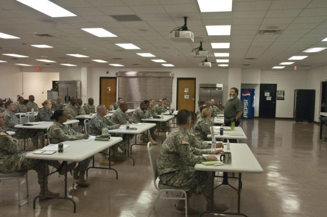 412th TEC senior Soldiers ready to support families of fallen