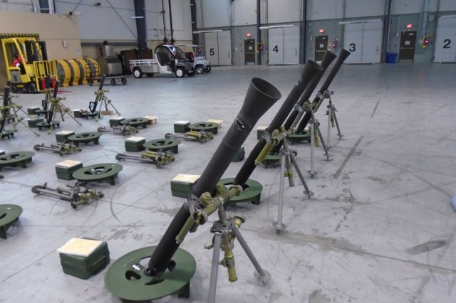 81mm Mortar System : Picatinny lightens soldiers load shaves pounds off