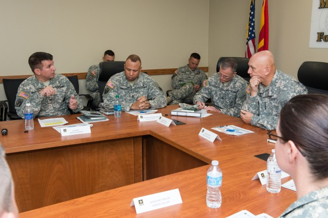 U.S. Army Chief of Staff Visits Fort Huachuca