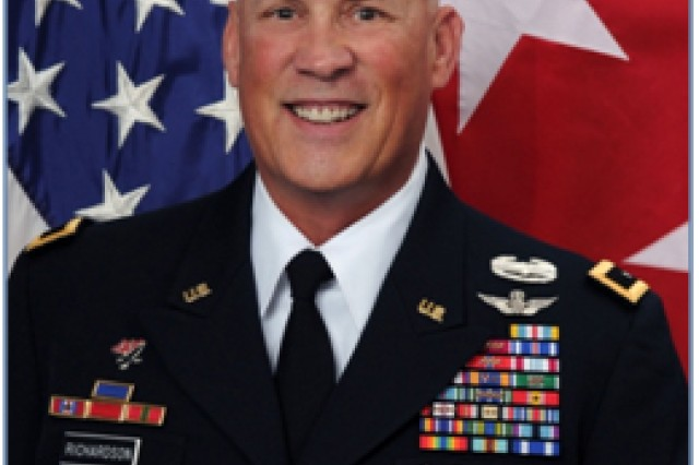 Major General Jim Richardson Commanding General Amcom
