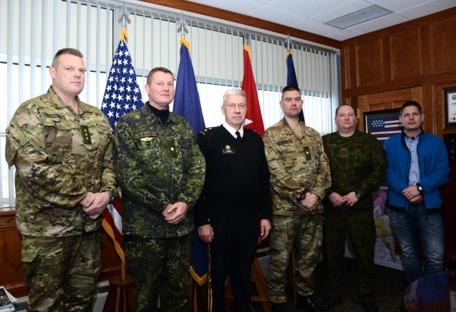 Danish Division meets with Pennsylvania TAG